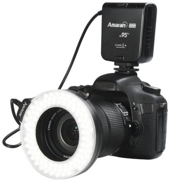 Aputure AHL-HN100 LED Macro Ring Flash Light for Nikon D7100 D5200 D800 D610 D90(Hong Kong)