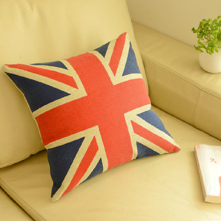 Decorative Pillows Cushions Home Decor Throw Pillows Fluid Systems British Flag Containing Pillow Shooting Props 44cm