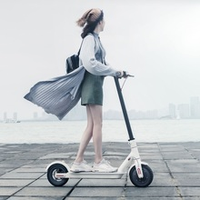 Original XiaoMi MI Mijia Smart Electric scooter Battery Electric Skate Adult Foldable Bike Mini Motor Scooter Steering-wheel(China (Mainland))