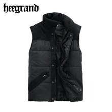 2016 New Casual Men  Outerwear Patchwork Color Fashion Style Waistcoat MWM020(China (Mainland))