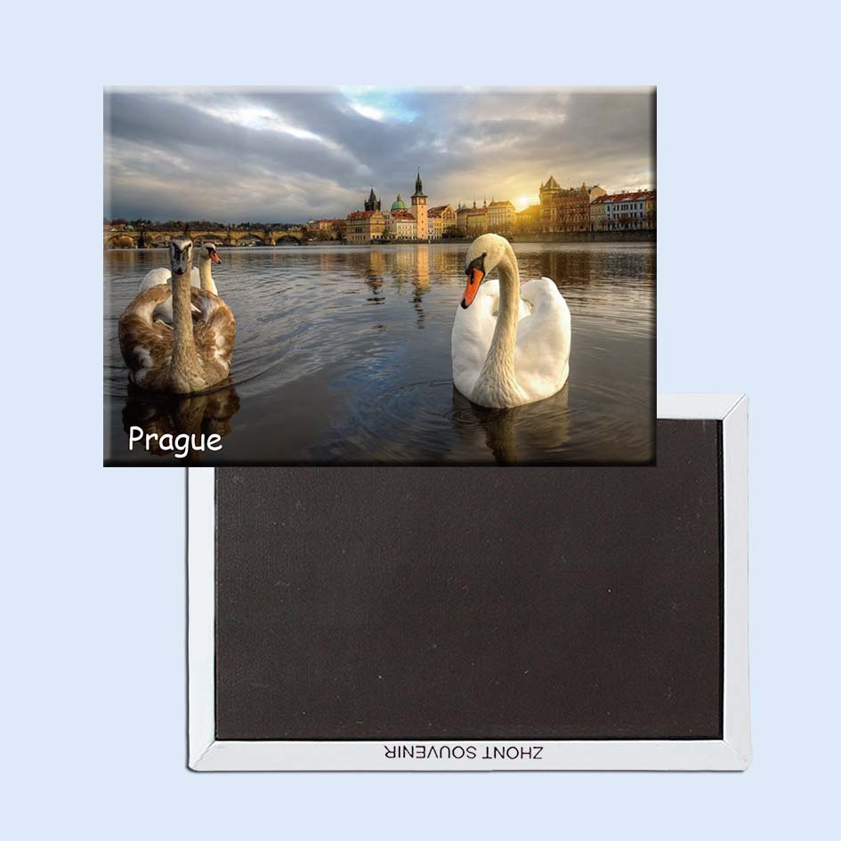 Prague ,the capital and largest city of the Czech Republic, Praha Travel Picture Refrigerator Magnets 21174(China (Mainland))