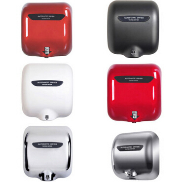 New 6 Colors Stainless Steel 1800 Watts High Speed Automatic Hand Dryer Durable(China (Mainland))