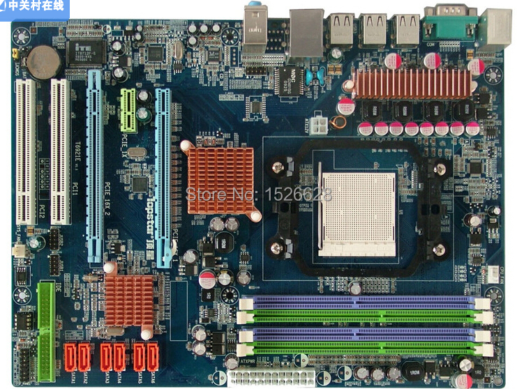 Free shipping 100% original motherboard for Topstar  T-A770S AM3  DDR2/DDR3   Desktop motherborad Solid state power supply