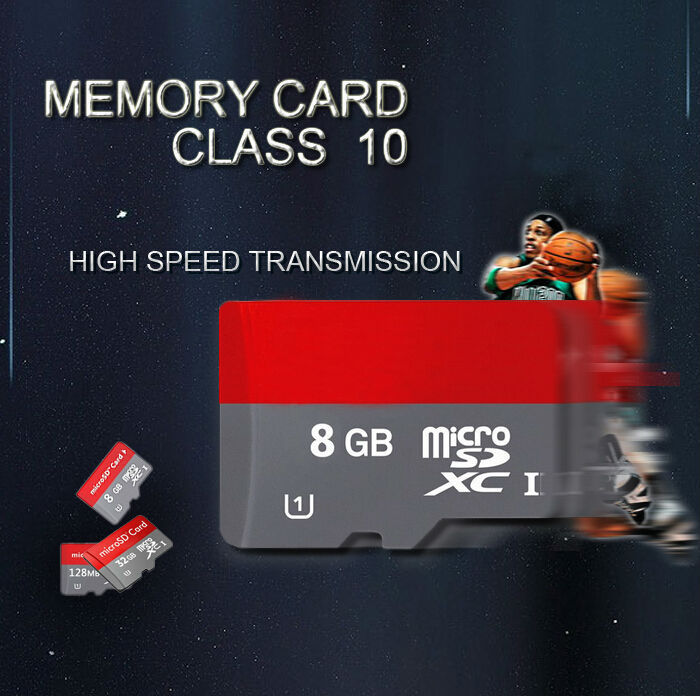Wholesale Micro SD Card Class 10 TF Memory Card T-Flash Transflash 2GB 4GB 16GB 8GB reader+adapter free shipping T1(China (Mainland))