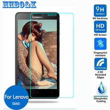 For Lenovo S660 Tempered Glass Screen Protector 0.3mm 2.5D 9h Safety Protective Film on S 660