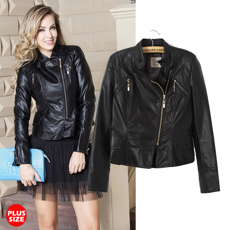 Black Leather Jacket Girl