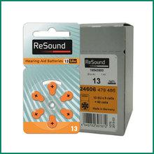 ReSound Hearing Aid Batteries Size 13 a13 s13 p13 Zinc Air Hearing aid battery (60 batteries in total)(China (Mainland))