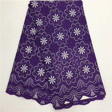 Buy 16L13kLatest African Cotton Swiss Voile Lace Fabric,High African Swiss Voile Lace Switzerland for $45.00 in AliExpress store