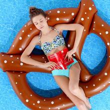 Inflatable Flamingo Giant Pool Float unicorn Donut 140cm  Swan Summer Swimming Ring Flamingo Pool Float toys for Adults(China (Mainland))