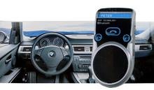 Bluetooth Car Kit громкая стерео динамик громкой связи телефона универсальный солнечных батареях Bluetooth автомобильный комплект громкой связи жк-дисплей