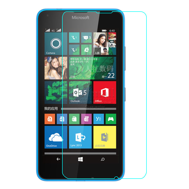 0.26mm Screen Protection Tempered Glass Film For microsoft lumia 640 630 535 Screen Protector Cover For nokia xl x2 9H Hardness(China (Mainland))
