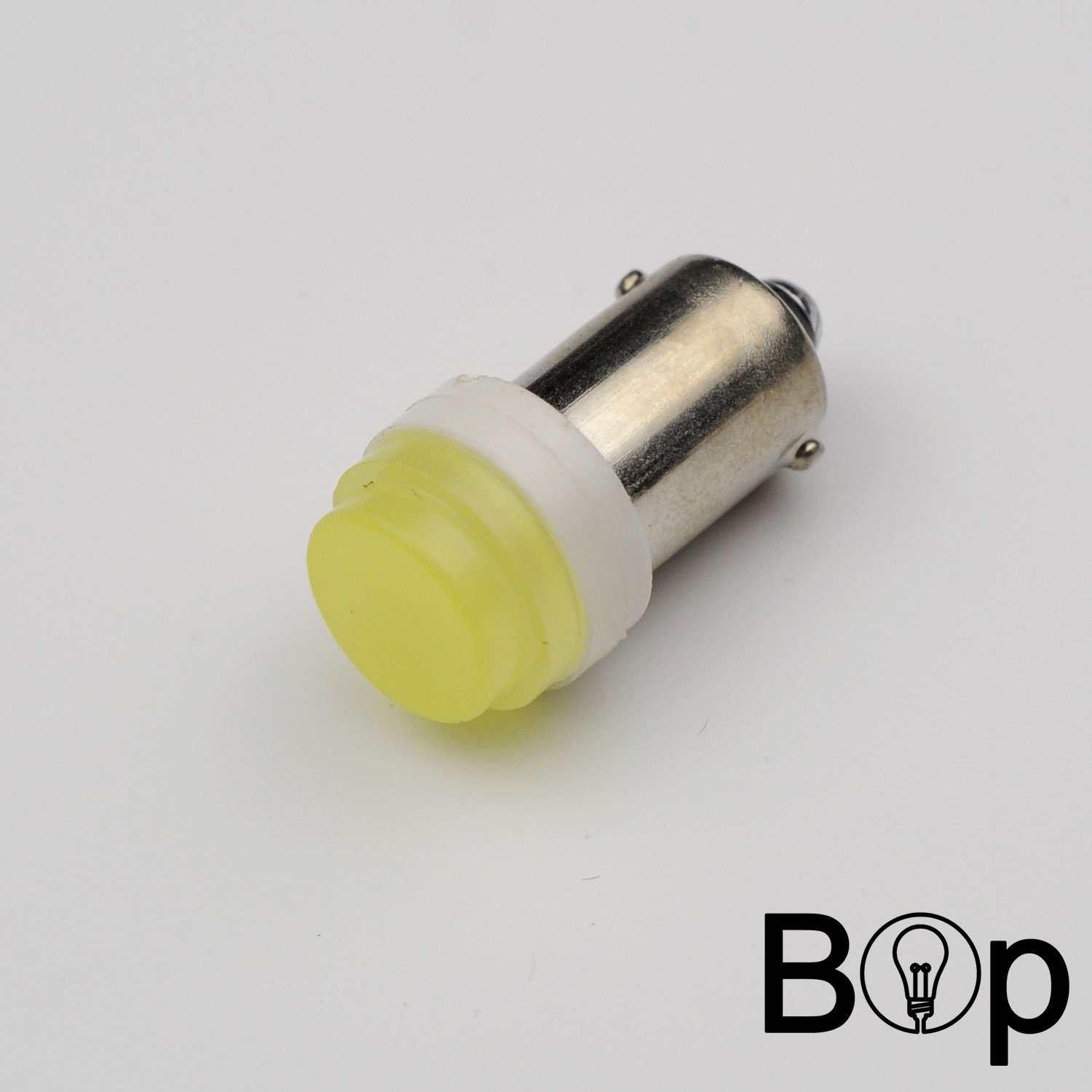 2016 New BOP 2W BA9S T4W Ceramic 1 COB 2W White LED Car License Plate Light Bulb Door Lamp DC12V bus linghting free shipping(China (Mainland))