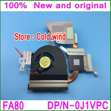 100% New Original For Dell Inspiron 15R N5110 Heatsink Cooler fan 23.10459.001 J1VPC DFS501105FQ0T FA80 Vostro 3550 Cooling fan