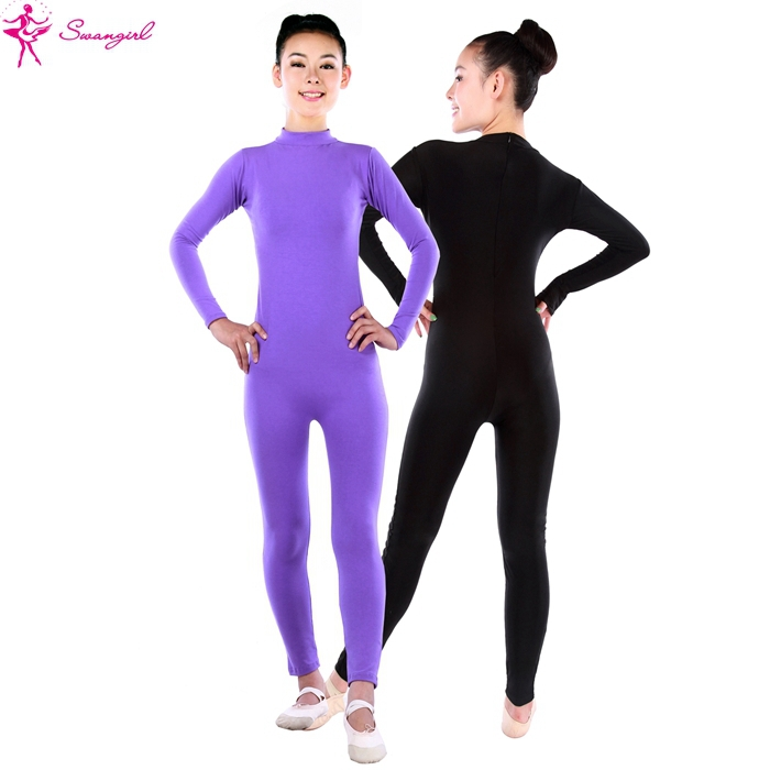 women long sleeve ballet unitards,dance unitards for gilrs,dance pants SD4041Одежда и ак�е��уары<br><br><br>Aliexpress