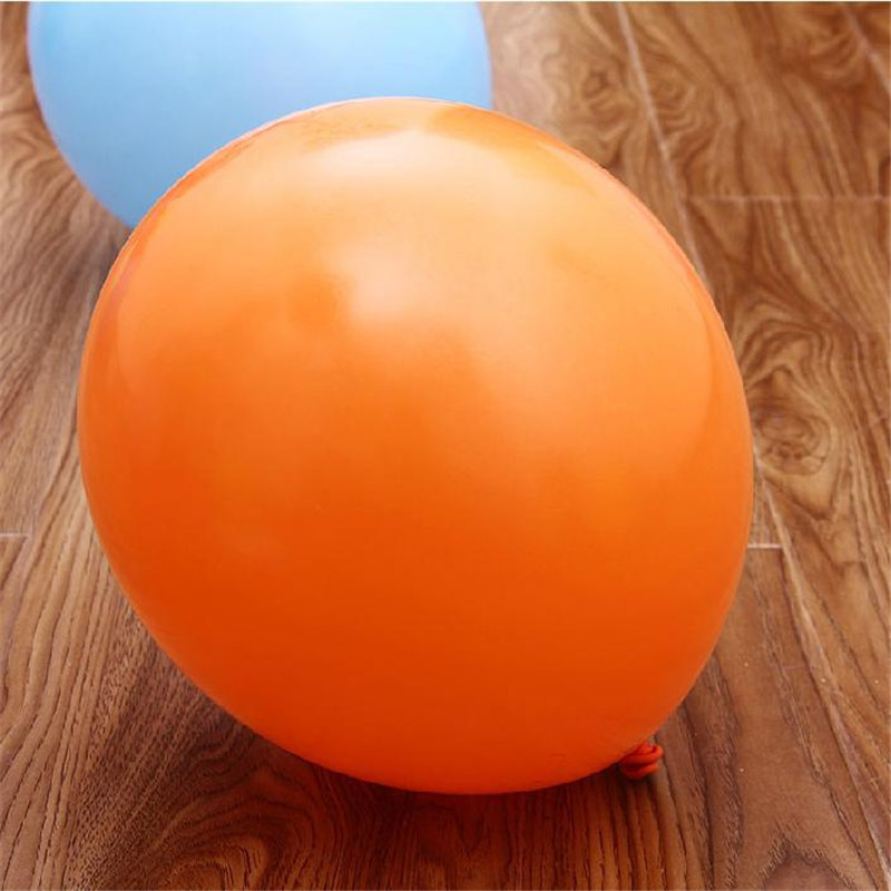 TOP Quality 100pcs 10 inch Orange Latex Balloons helium Balloon Thickening Balloon For Party Wedding Birthday Decoration Toy(China (Mainland))