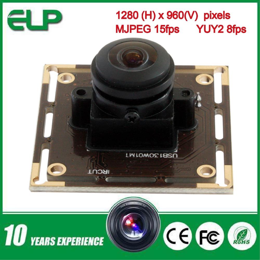 1.3mp low light 0.01lux cmos micro hd usb 2.0 wide angle digital cctv fisheye camera module with 180degree fisheye lens(China (Mainland))