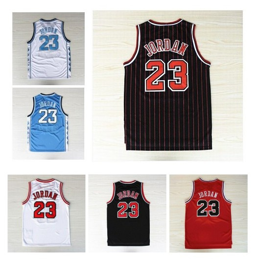 Chicago #23 Michael Jordan Basketball Jersey, High Quality Embroidery Retro Basketball Jerseys(China (Mainland))