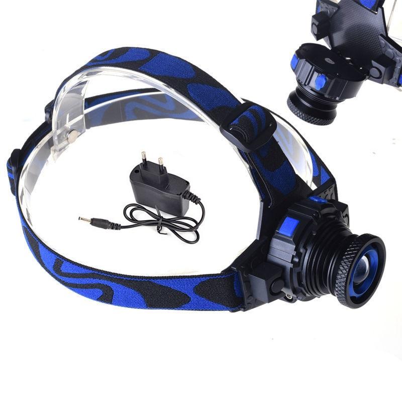 Led Spotlight Headlamp: Cree Q5 3 Modes 1000 Lumens LED Rechargeable Headlight