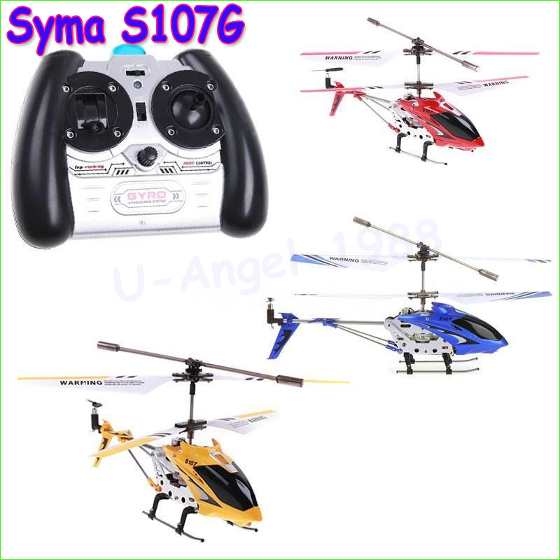 1pcs 100% Original SYMA S107 S107G RC Helicopter 3.5CH mini RC toys with GYRO Wholesale Drop Freeship(China (Mainland))