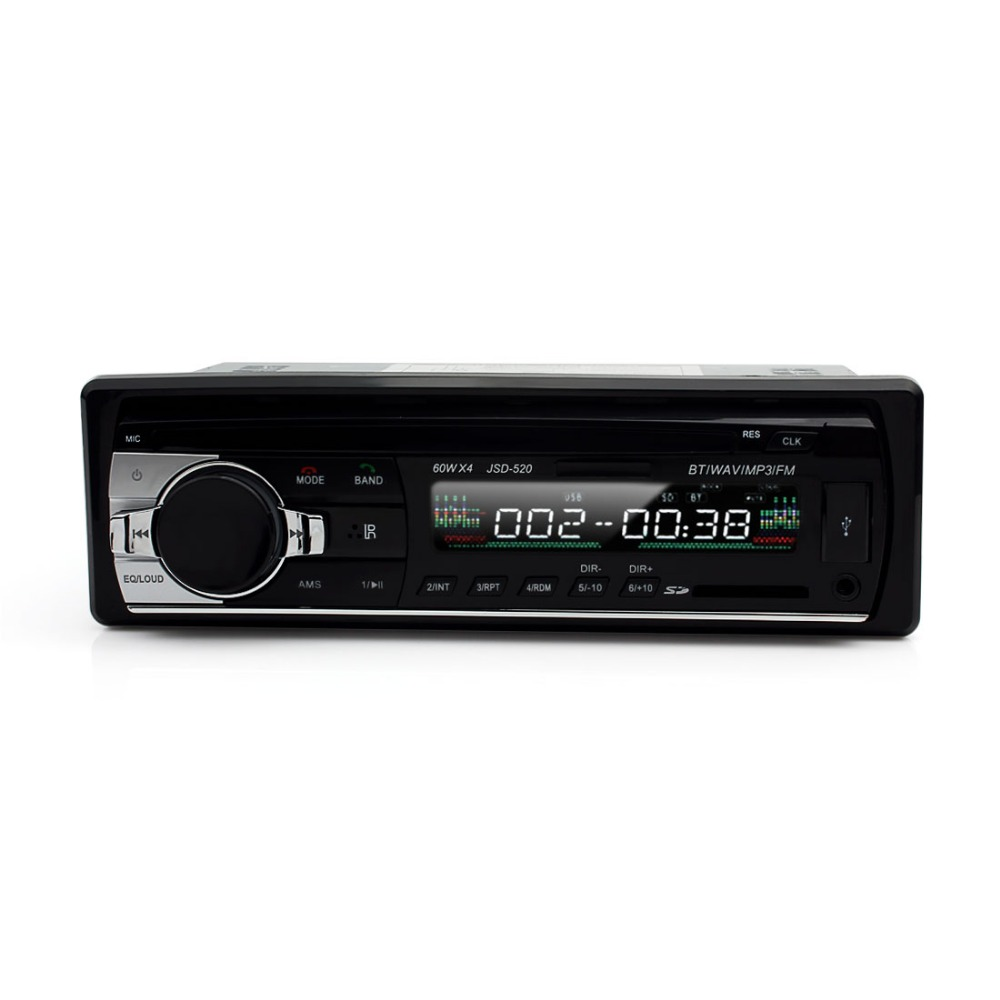 2PCS/LOT Digital Bluetooth Hands-free Car Stereo Audio MP3 / USB / SD / FM Music Player with In Dash Slot<br><br>Aliexpress