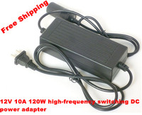 Free shipping car power adapter 220V 12V 8A 10A car cigarette lighter socket DC DC 120W adapter