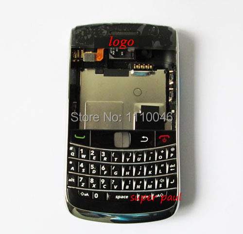 Wholesale Replacement Parts For BLACKBERRY Bold 9700 9780 Housing Full Set Cover Case Accessories Free ship(China (Mainland))