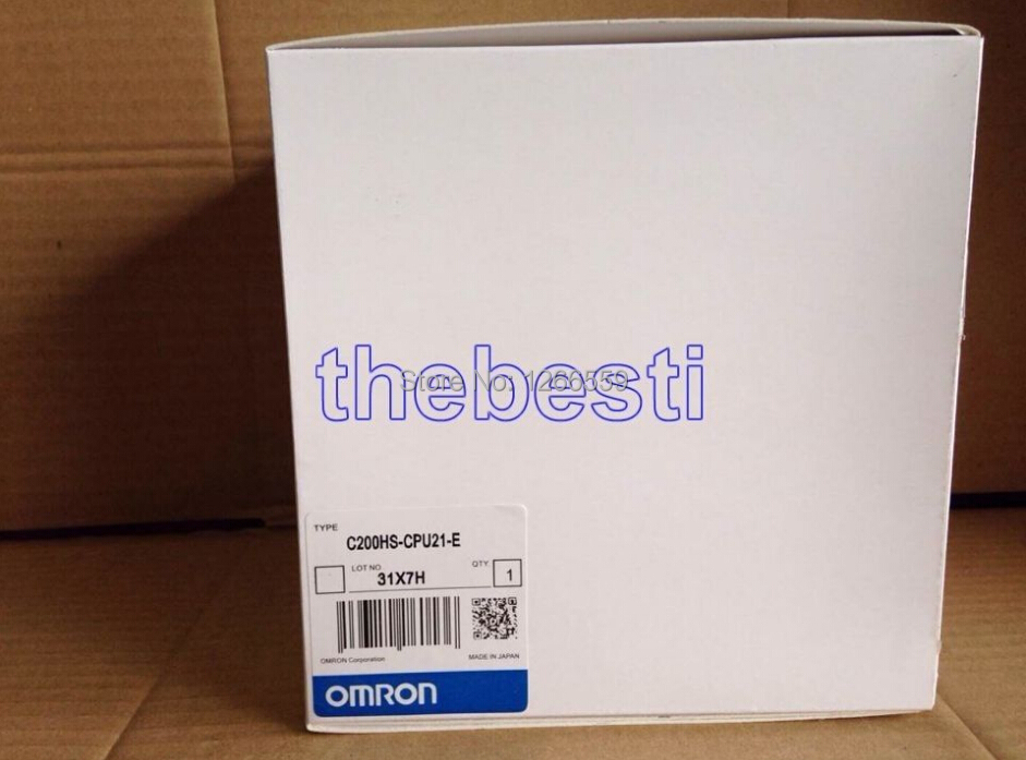 One New Omron Sysmatic CPU Unit C200HS-CPU21-E PLC In Box(China (Mainland))