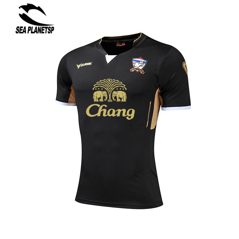 2017 Summer Men Short Sleeve Soccer uniforms T Shirt Quick Dry Fitness Slim Fit T-shirt Sports Tops & Soccer Jersey SEA PLANETSP(China (Mainland))