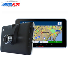New 7 inch Car GPS Navigation Android FHD 1080P DVR Camera Recorder Bluetooth MT8127 Quad-core processor Truck vehicle gps 8GB