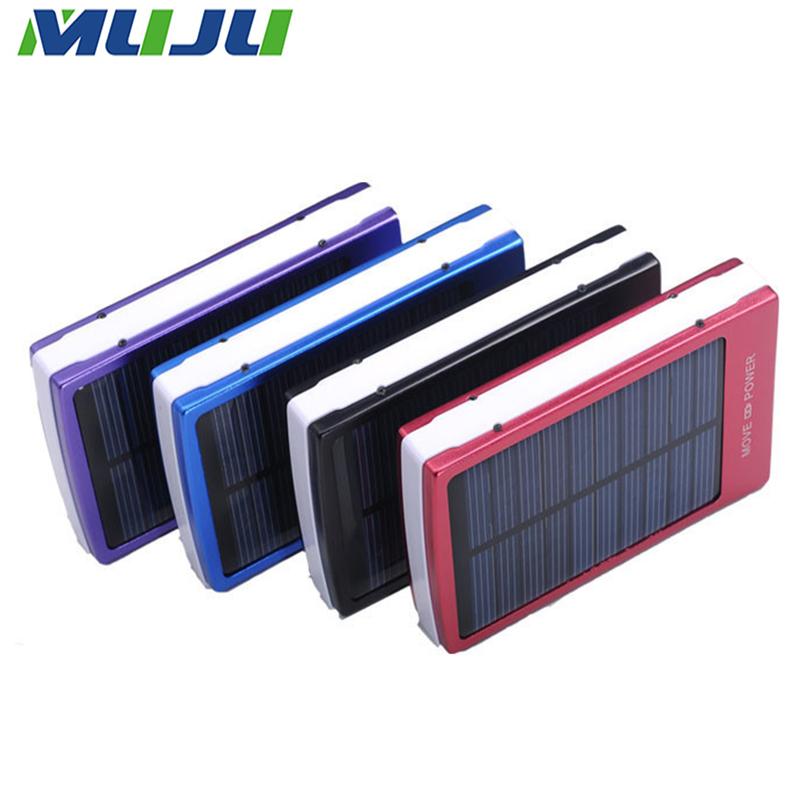 20set/lot Hi-Q Power Bank 20000mAh Portable Solar Charge External Battery Pack for Apple Samsung Google LG HTC Mi Tab Smartphone(China (Mainland))