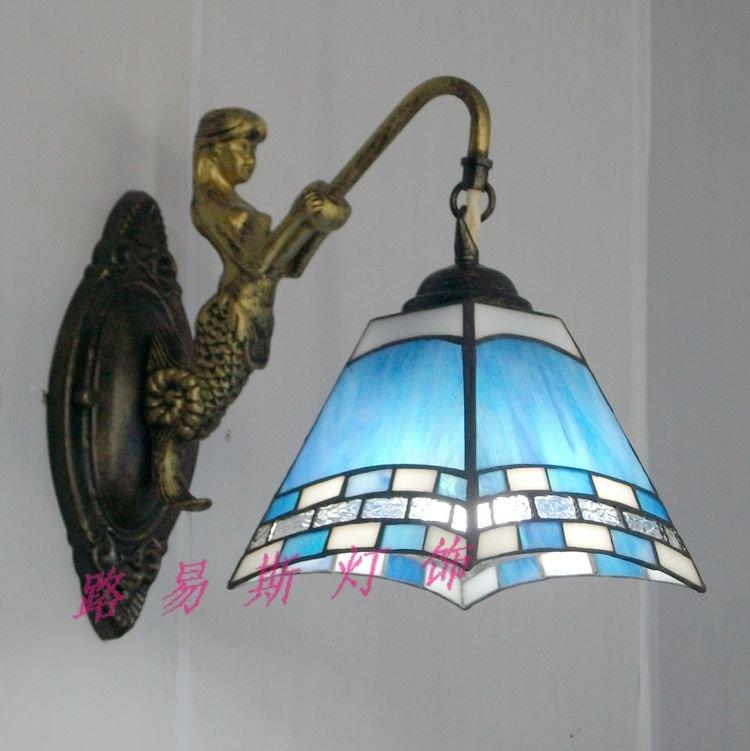 New-Mermaid-wall-Tiffany-lamps-before-the-mirror-wall-aisle-wall-lamp-lighting-bar.jpg