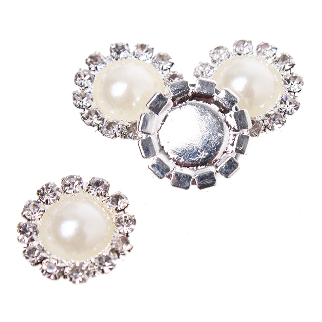 13/16/21/23/24/26mm White Platinum Clip On Earring Findings Pearl Round Earring Hair Clip Apparel Accessories Jewelry DIY 162206(China (Mainland))