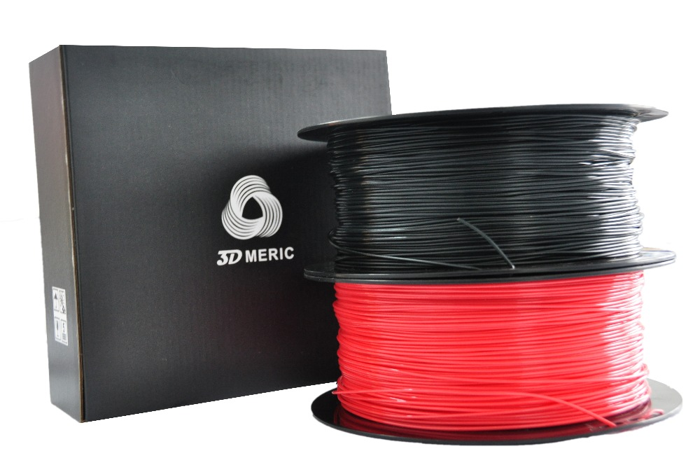 1.75mm / 3mm ABS Plastic Filament 1kg/2.2lb for 3D-Printer, RED, BLUE, WHITE, GREEN, BLACK, PURPLE, ORANGE, YELLOW with spool