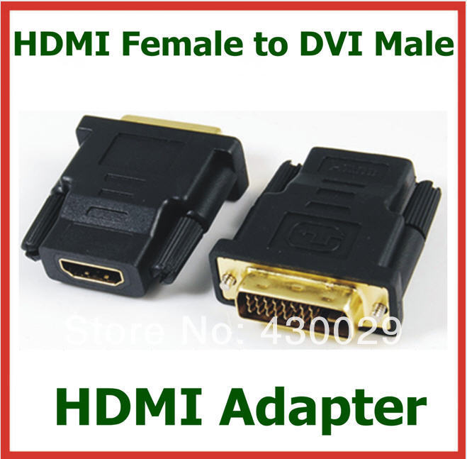Разъем No 50 HDMI DVI HDTV DVD LCD HDMI Female to DVI Male
