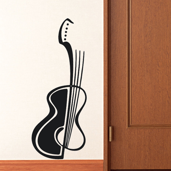Free Shipping Wall Stickers Wholesale And Retail Wall Decor Pvc Material Decals Wallpaper Music
