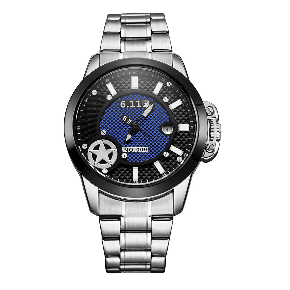 2016 Top Luxury Brand Men Sports Military Watches Men's Quartz Analog Hour Date Clock Fashion Casual Full Steel Wrist watch(China (Mainland))