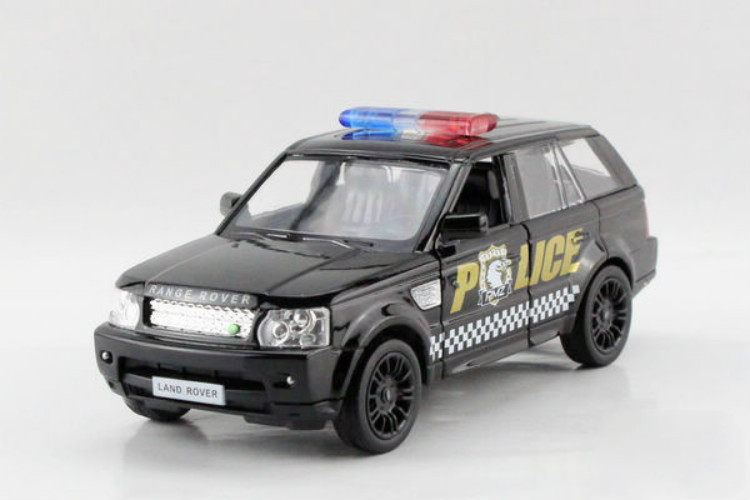 """5"""" Miniaturas Scale Model 1:36 Police Car SUV Die Cast Alloy Car Model Boy Car Toys Gift Collection(China (Mainland))"""