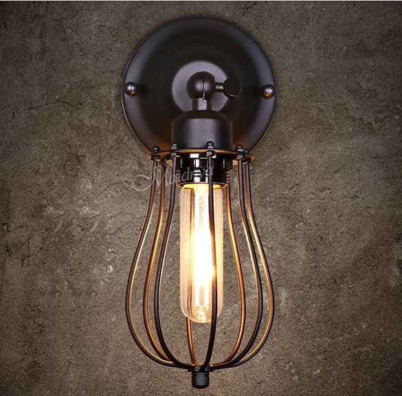 Здесь можно купить  Antique Loft Style Vintage Wall Light Fixtures Industrial Wind Edison Wall Sconce For Bedside Wall Lamp Home Lighting Lamparas  Свет и освещение