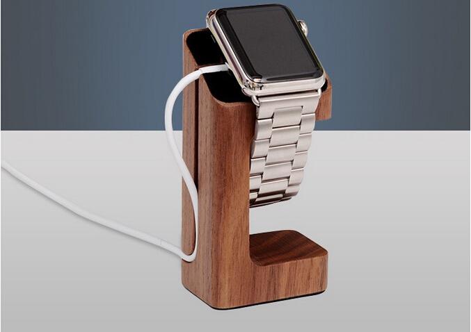 Новое поступление дерево подставка для Apple , диапазон вахты воздуха зарядки дисплей настольный держатель для Apple , часы iwatch Accessores 38 мм и 42 мм