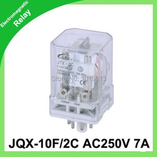 dc 220v relay 8-pins series general purpose JQX-10F/2C electromagnetic - YIYA IMP&EXP CO.,LTD store