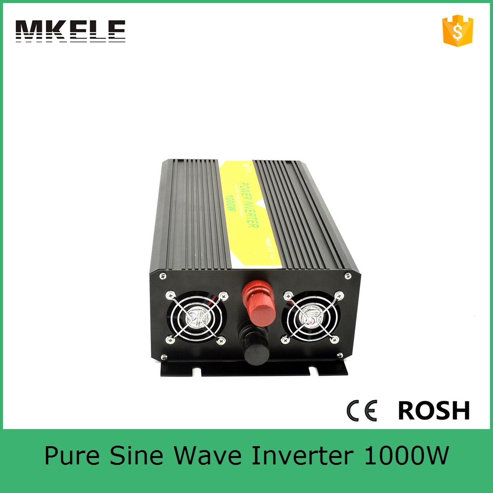 MKP1000-241B small size pure sine wave 1kw inverter solar power inverter dc 24v to ac 110vac with low price(China (Mainland))