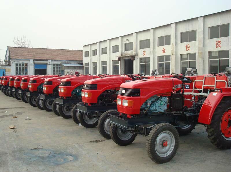 tractors display 1