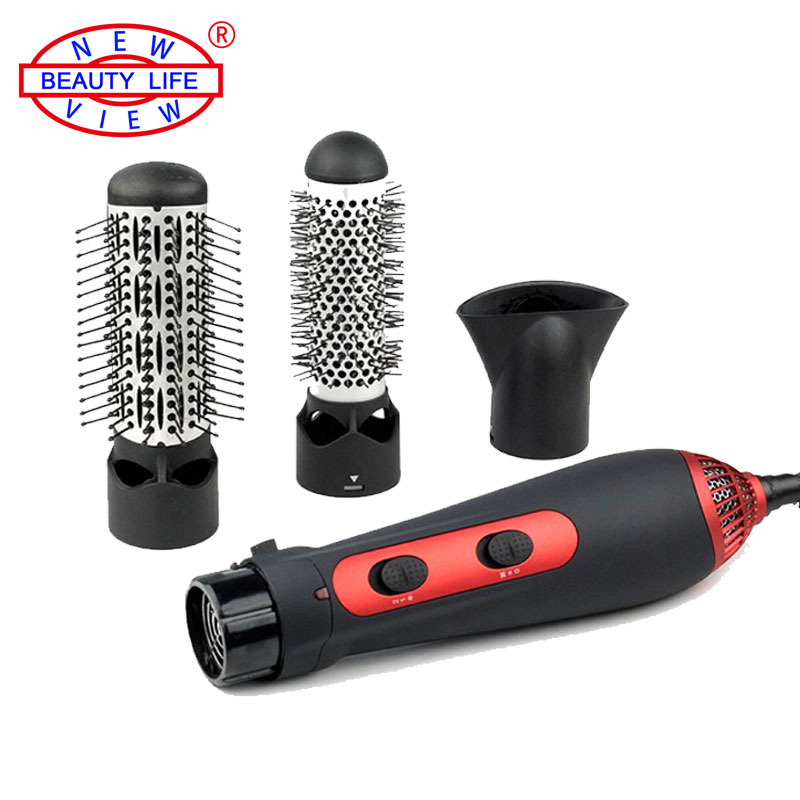 220v 1200w Hot Air Brush Styler And Hair Dryer Machine