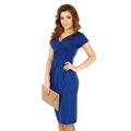 Maternity Women s Dress V Neck Short Sleeve Slim Pregnant Dresses Knee length High Elastic Casual