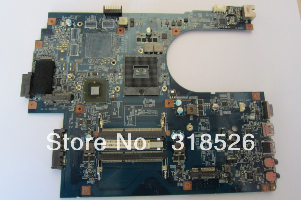Laptop motherboard for acer aspire 7741 7741Z MBPT501001 48.4HN01.01M HM55 DDR3 full tested 50% off shipping(China (Mainland))