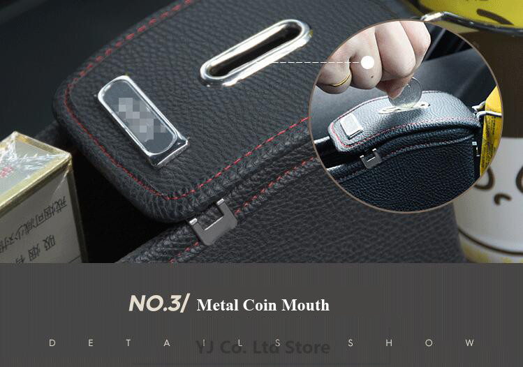 Car Styling Universal Auto Seat Gap Storage Box Organizer Drink Holder Stowing Tidying For Wallet Phone Coins Drop Shipping