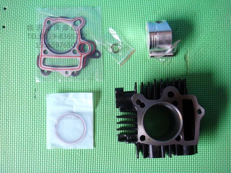 Motorcycle cylinder block zongshen lifan loncin 110 stolonic cylinder block cylinder sets ,Free shipping(China (Mainland))