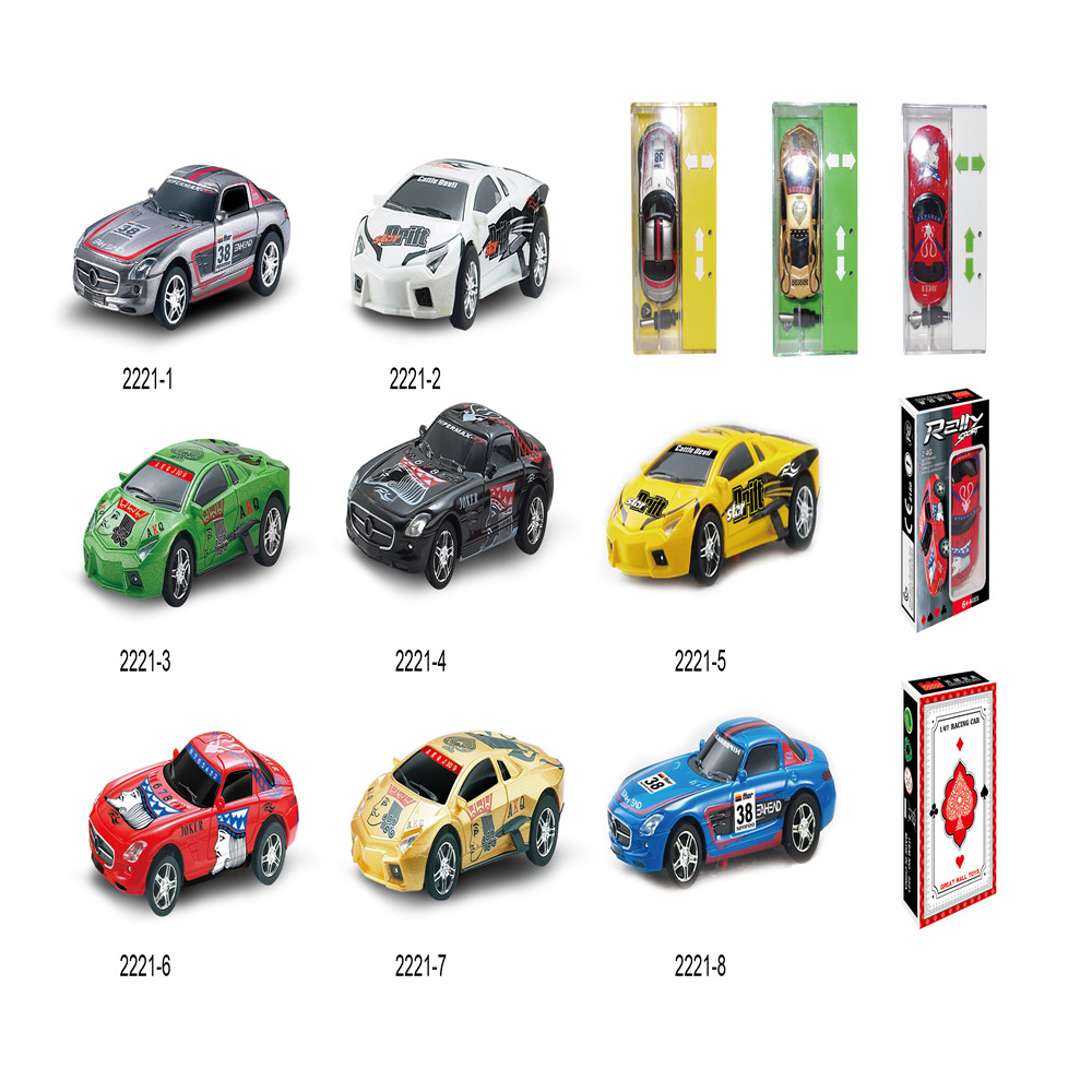 Mini Poker Printing RC Car Radio Remote Control Car Coke Can RC Drift Educational Toys Kids Toys Gift(China (Mainland))