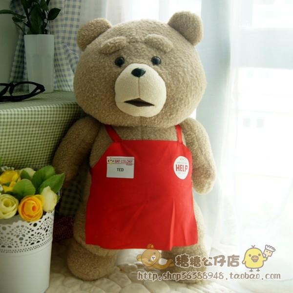 45cm ted movie giant teddy bear, giant stuffed bear, big teddy bear plush toy best gift for girlfriend<br><br>Aliexpress
