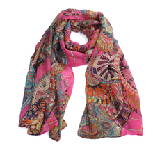 Newly Design Women HOT Pink Navy Orange Chiffon Long Scarf Wrap Shawls Junly13 Drop Shipping(China (Mainland))